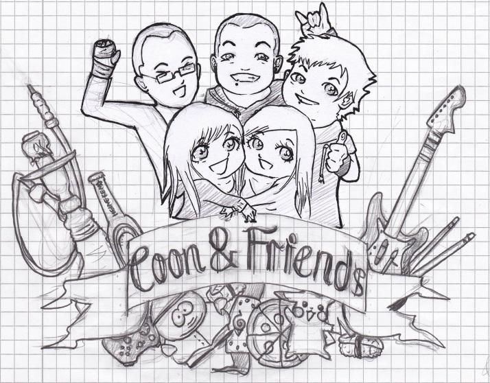 Coon & Friends Skizze 3