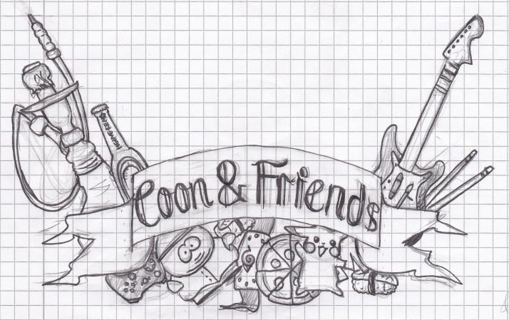 Coon & Friends Skizze 2