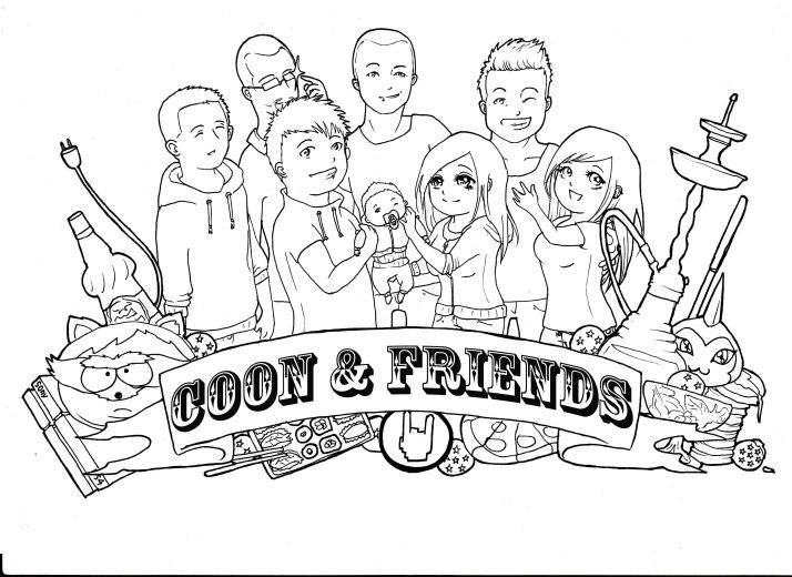 Coon & Friends Entwicklungsprozess