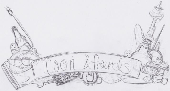 Coon & Friends Skizze