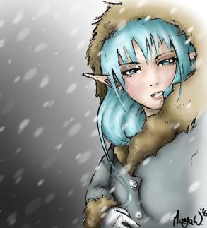 Schnee Elfe