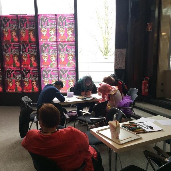 Workshop Manga Düsseldorf 3