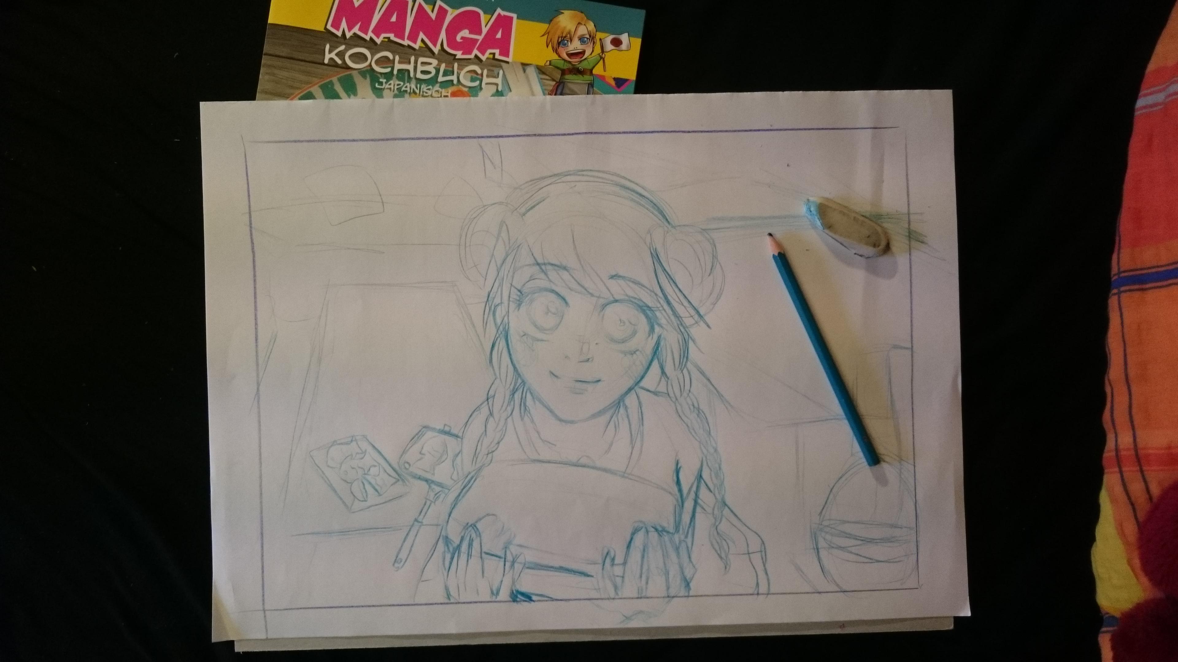 Manga Kochbuch - Entwicklungsprozess 1