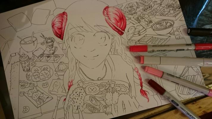 Manga Kochbuch - Entwicklungsprozess 3