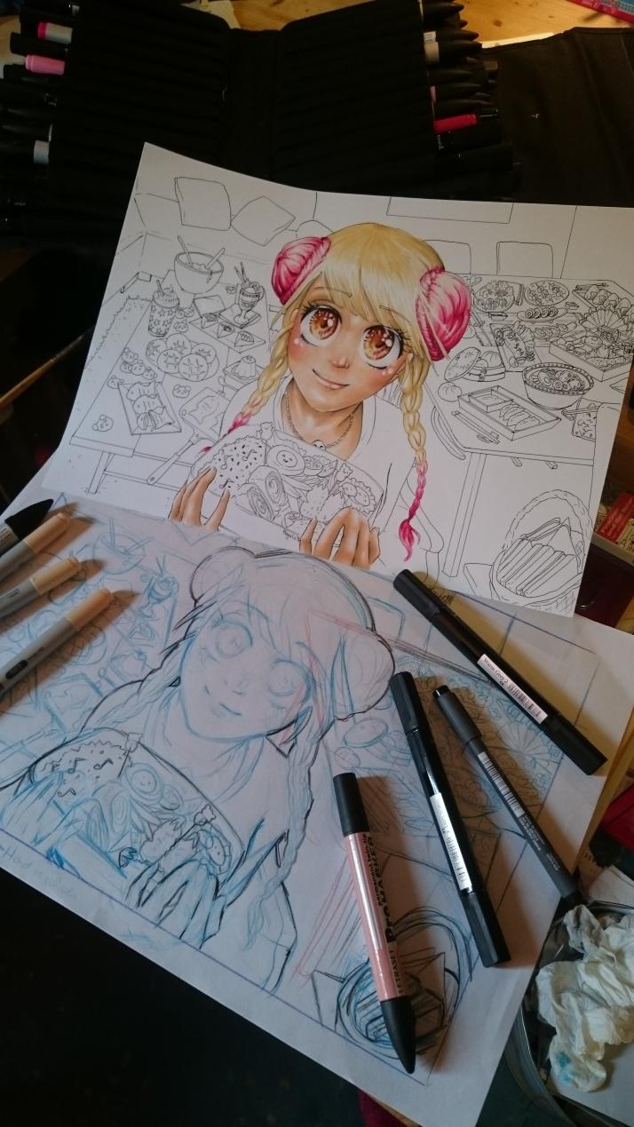 Manga Kochbuch - Entwicklungsprozess 5