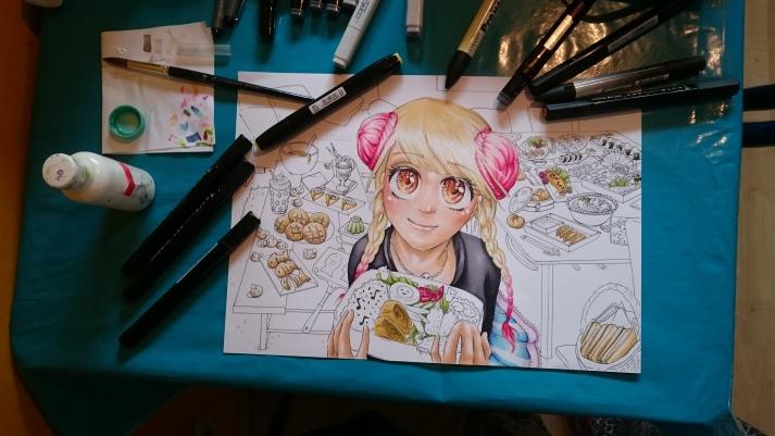Manga Kochbuch - Entwicklungsprozess 6
