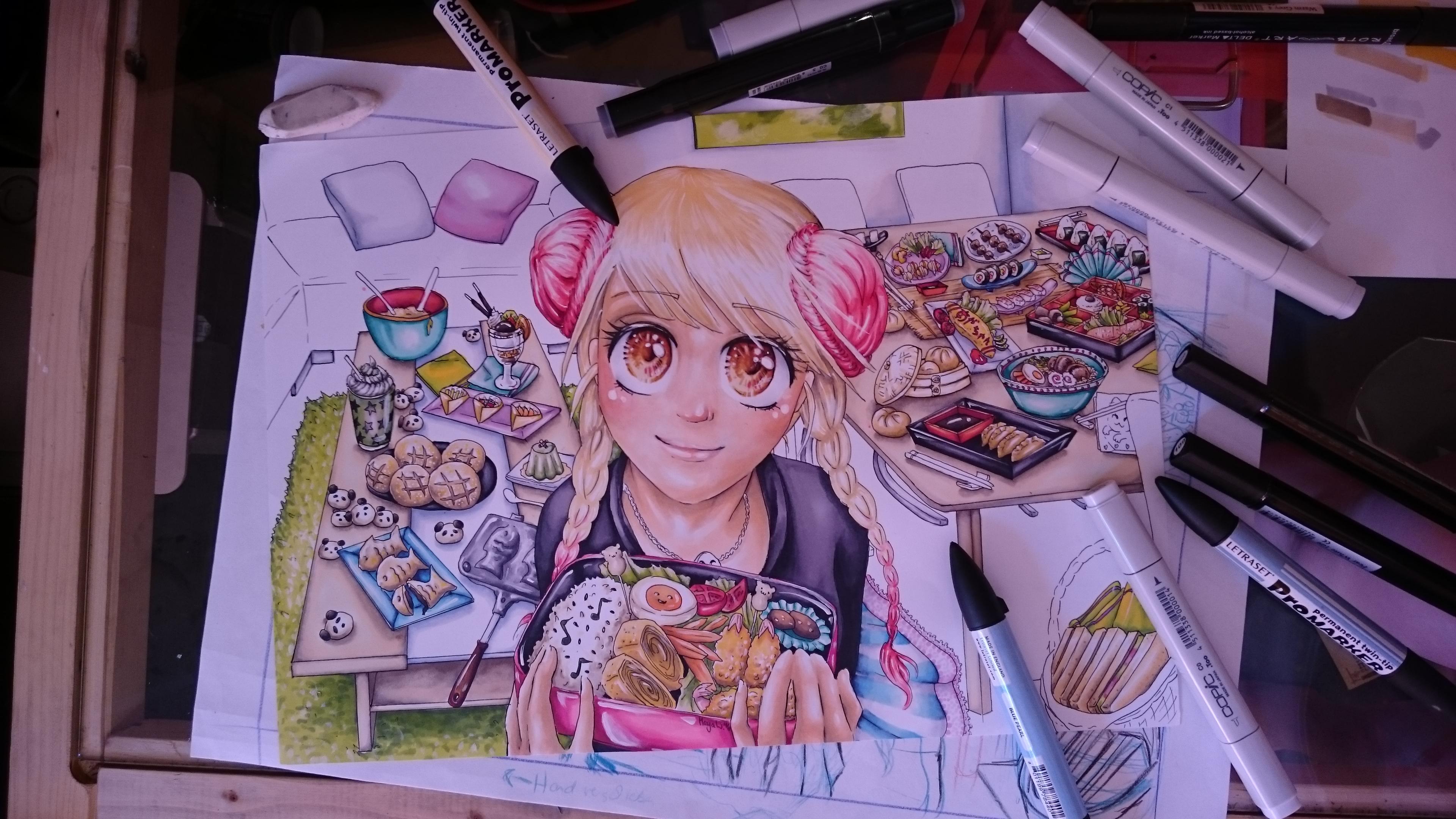 Manga Kochbuch - Entwicklungsprozess 7