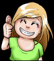 Mini me - thumbs up