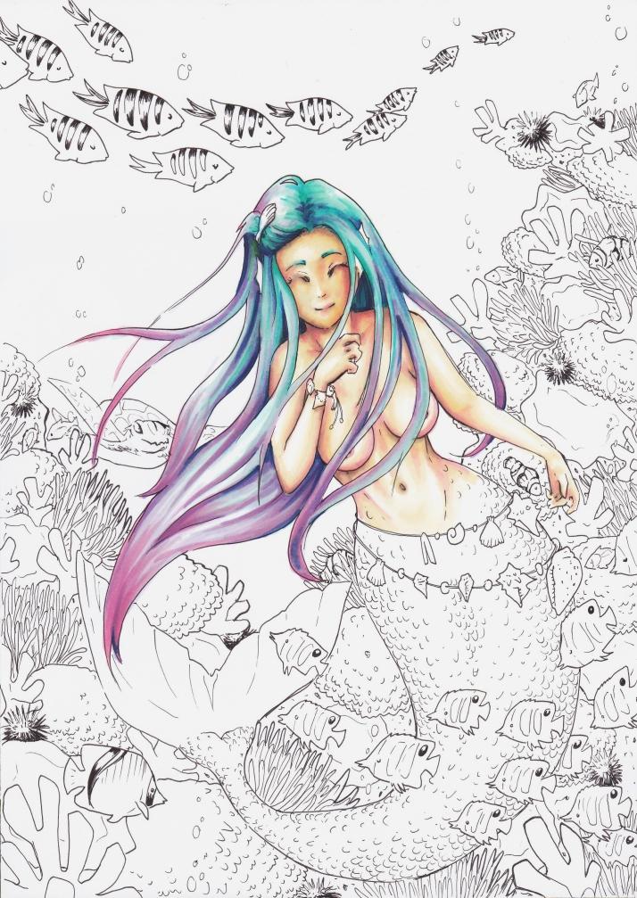 Meerjungfrau - Entwicklungsprozess 4