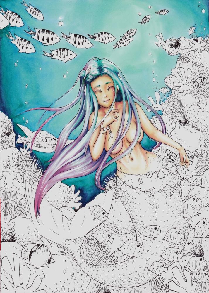 Meerjungfrau - Entwicklungsprozess 5