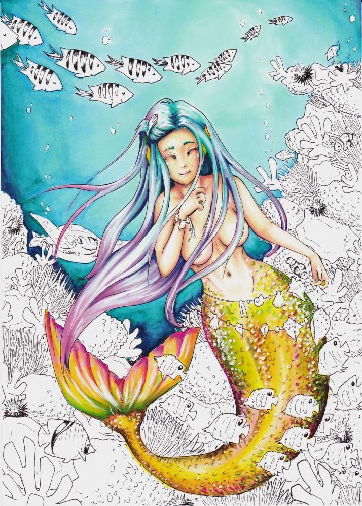 Meerjungfrau - Entwicklungsprozess 6