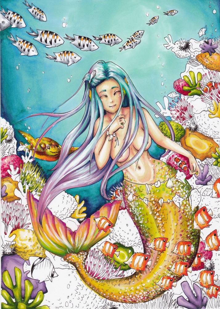 Meerjungfrau - Entwicklungsprozess 7