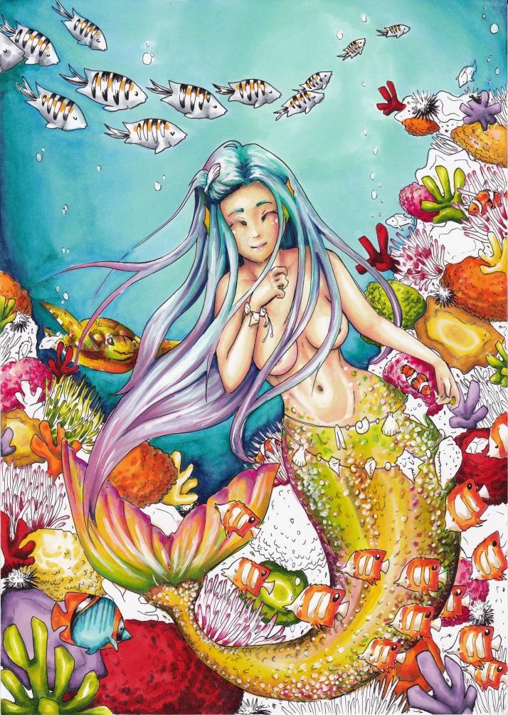 Meerjungfrau - Entwicklungsprozess 8