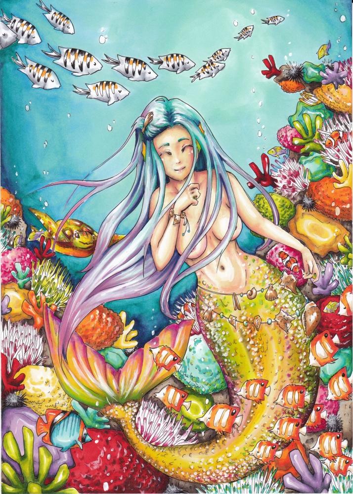 Meerjungfrau - Entwicklungsprozess 9