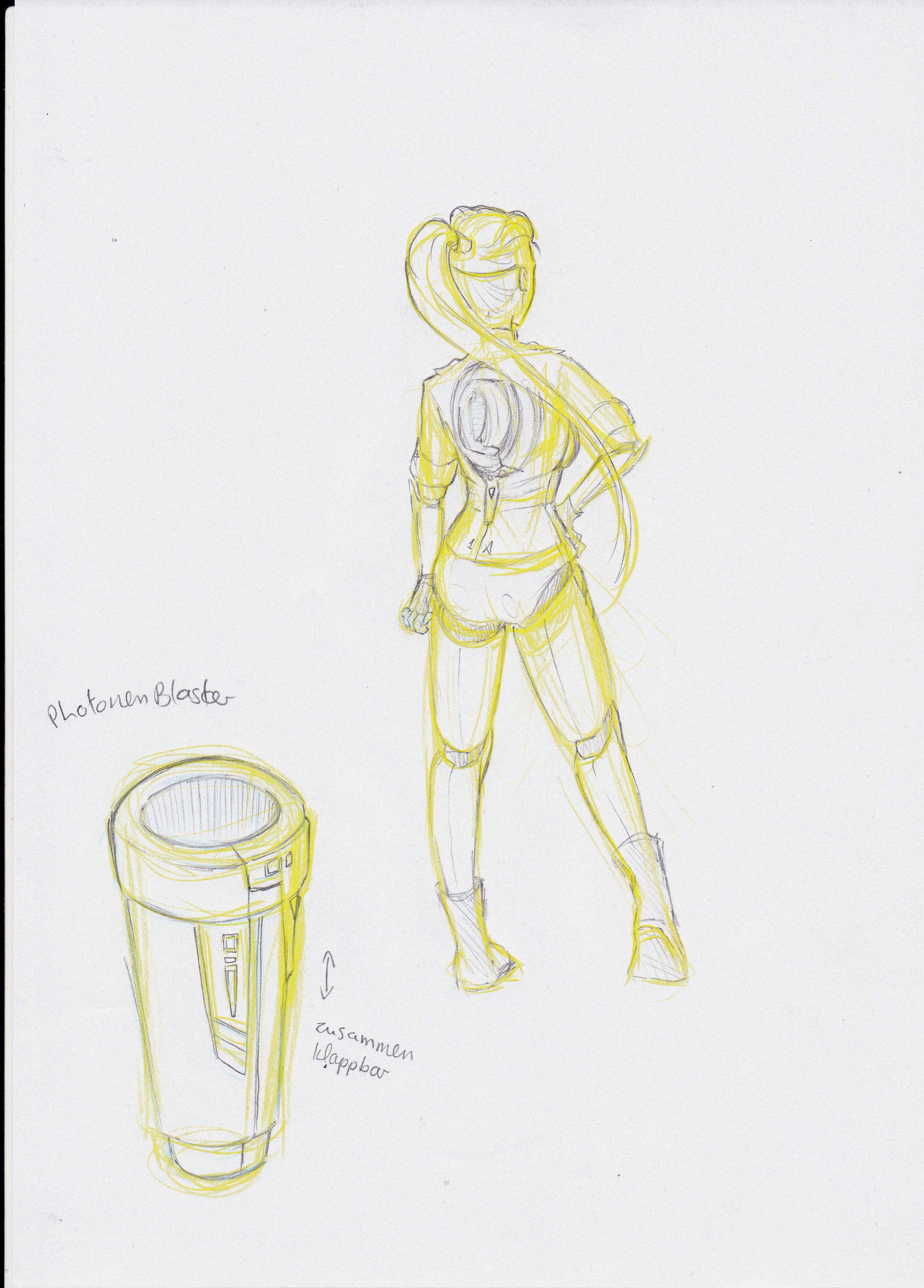 Cyborg Girl - Entwicklungsprozess 06