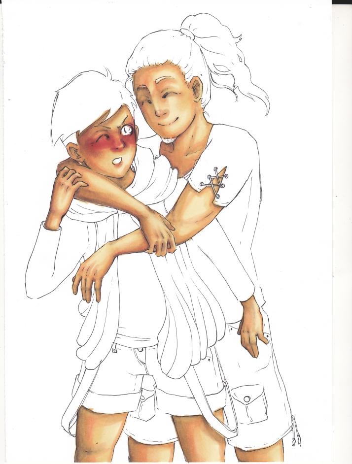 Tomoaki und Keito - Entwicklungsprozess 02