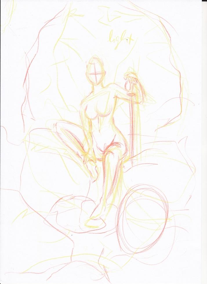 Jesdru the Fairy - Entwicklungsprozess 01