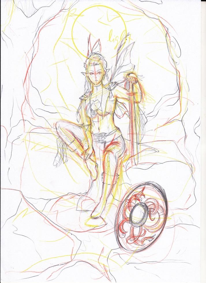 Jesdru the Fairy - Entwicklungsprozess 02