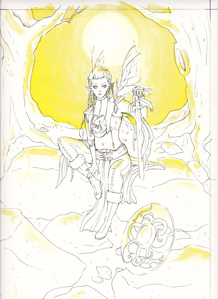 Jesdru the Fairy - Entwicklungsprozess 04