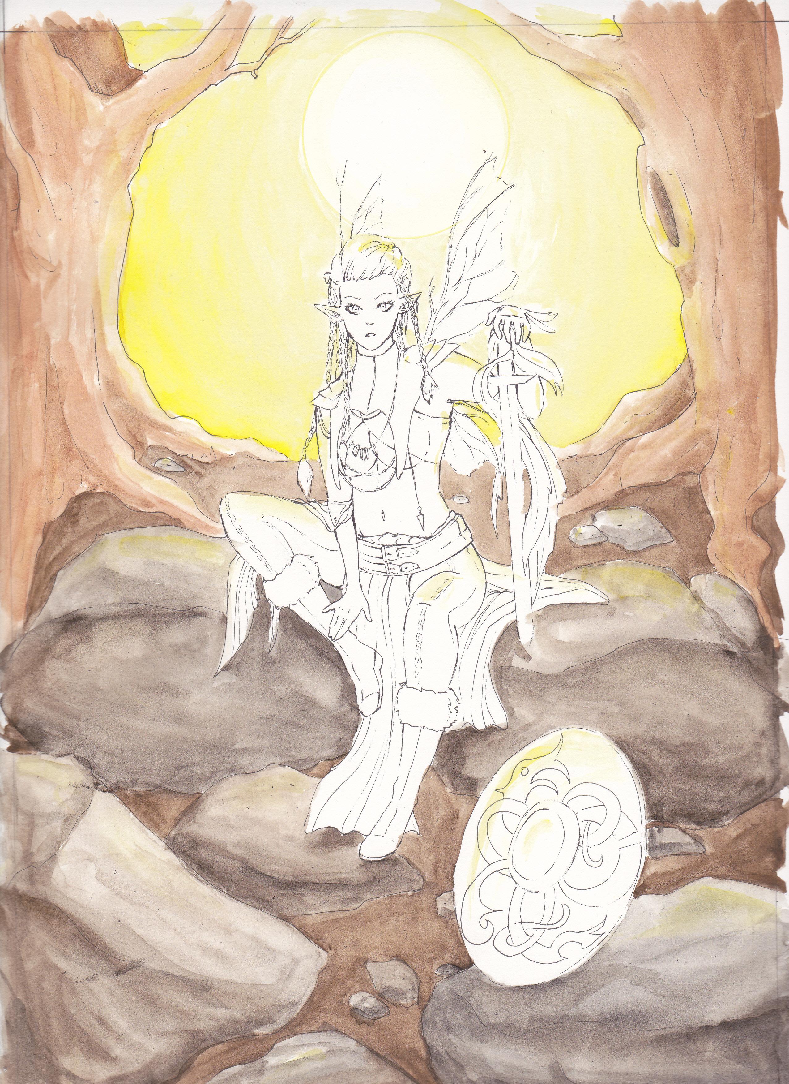Jesdru the Fairy - Entwicklungsprozess 05