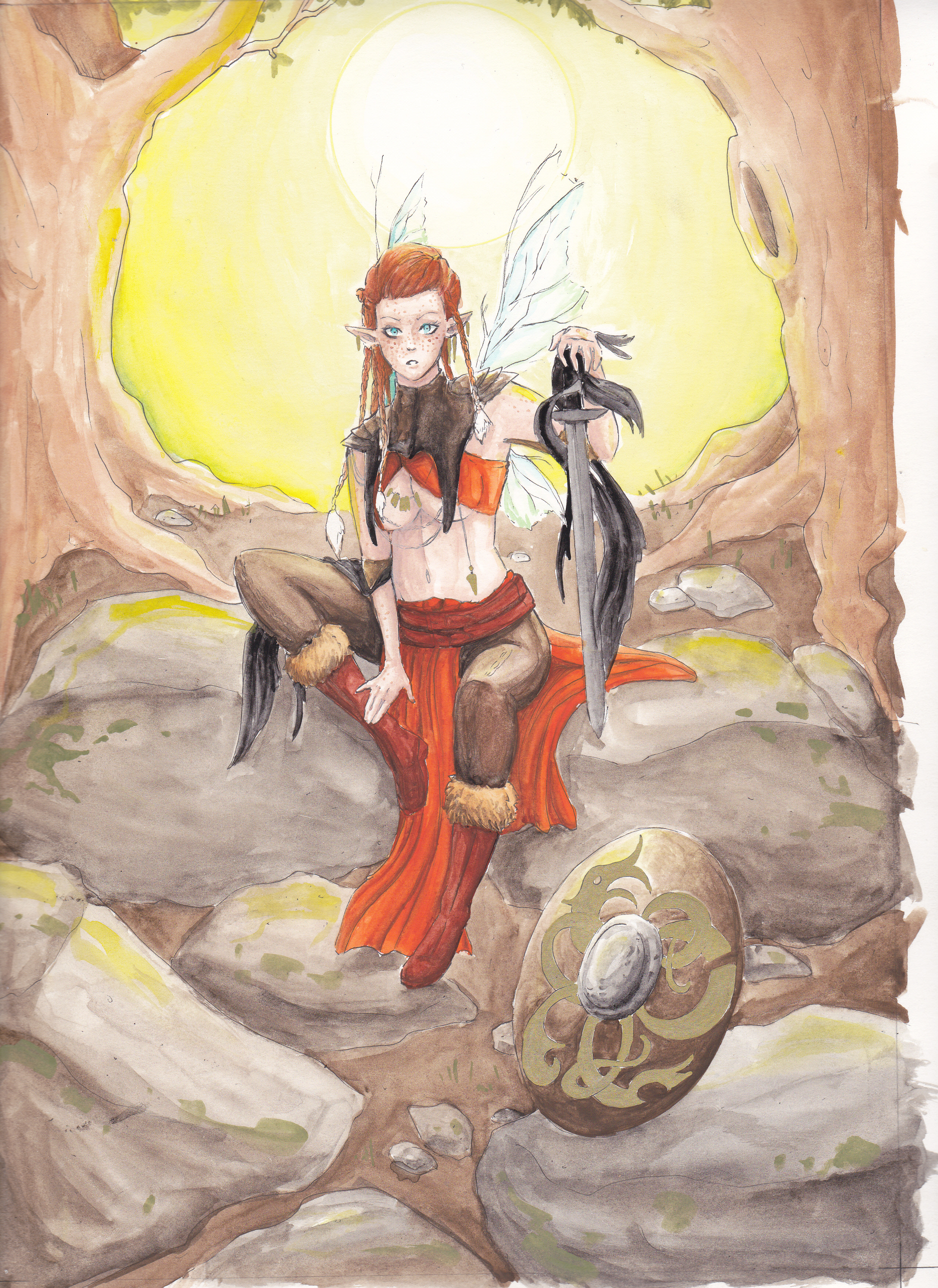Jesdru the Fairy - Entwicklungsprozess 06