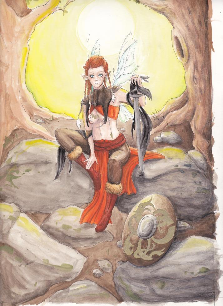 Jesdru the Fairy - Entwicklungsprozess 07