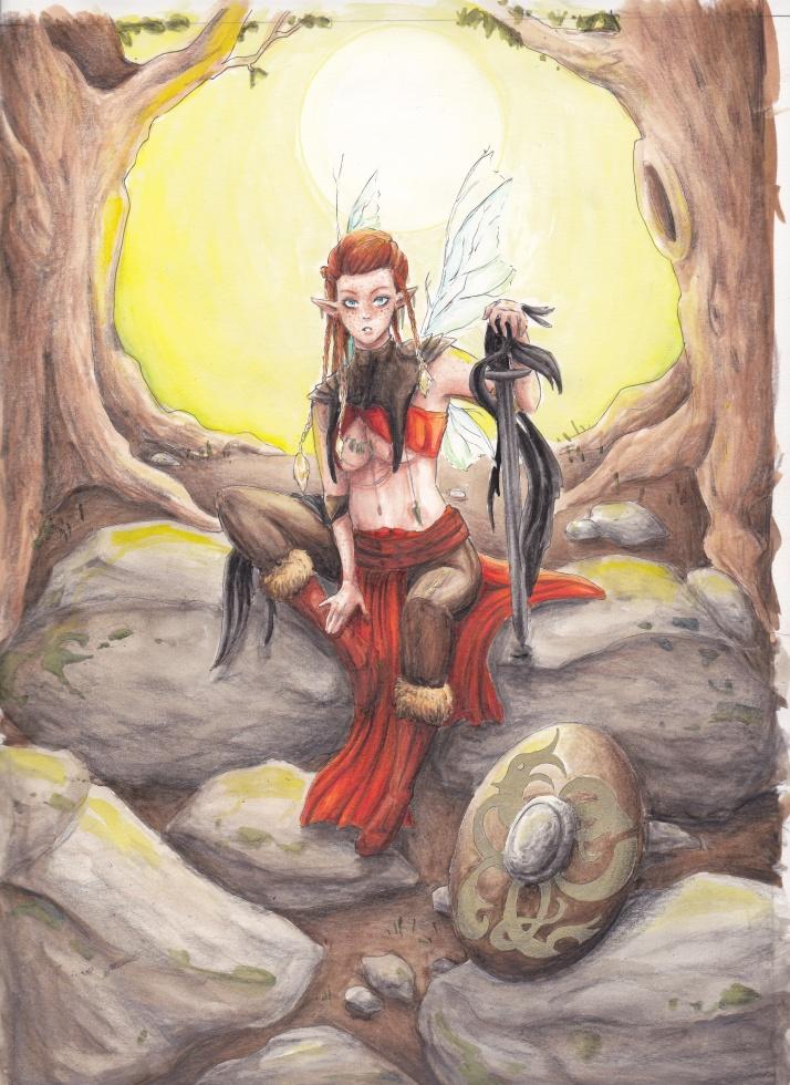 Jesdru the Fairy - Entwicklungsprozess 08