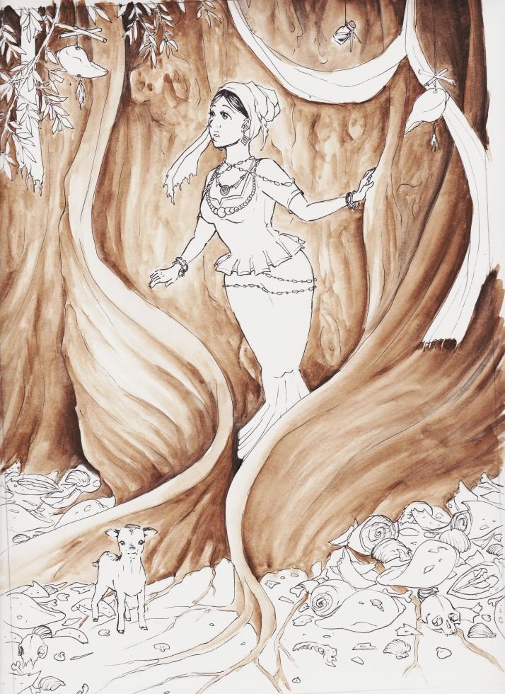 Heiliger Baum - Entwicklungsprozess 03