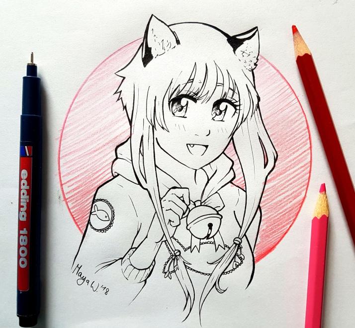 Neko Girl - Entwicklungsprozess 00
