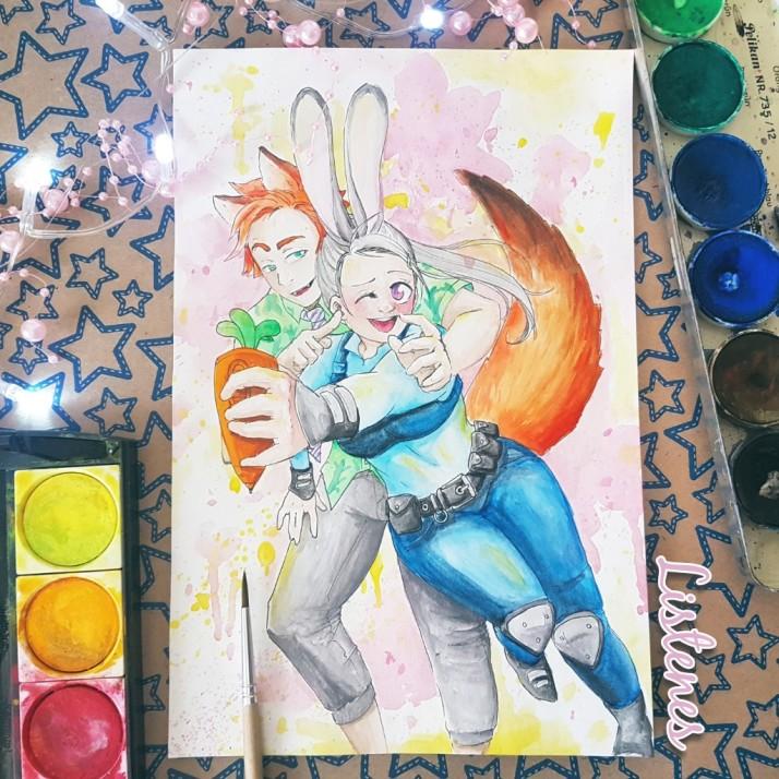 Judy und Nick - Entwicklungsprozess 04