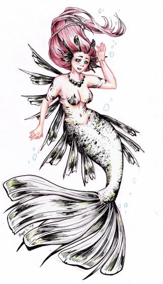 Tanzende Meerjungfrau 01