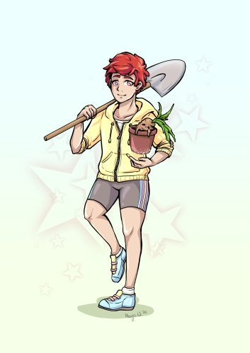 Trans Zauberer Gärtner 11