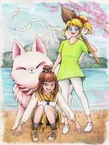 Bibi und Miyu